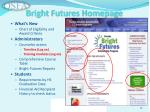 bright futures homepage