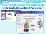 www floridastudentfinancialaid org state grants scholarships applications