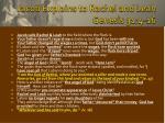 jacob explains to rachel and leah genesis 31 4 16