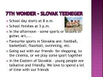 7th wonder slovak teeneger
