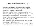 device independent qkd1