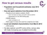 how to get census results