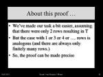 about this proof