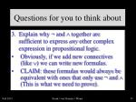 questions for you to think about4