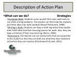 description of action plan2