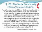 162 the social community i rights of persons with disabilities