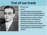 trial of leo frank