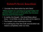 gabriel s seven assertions1