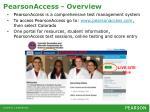 pearsonaccess overview