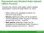 pearsonaccess student data upload sdu process2