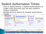 student authorization tickets1
