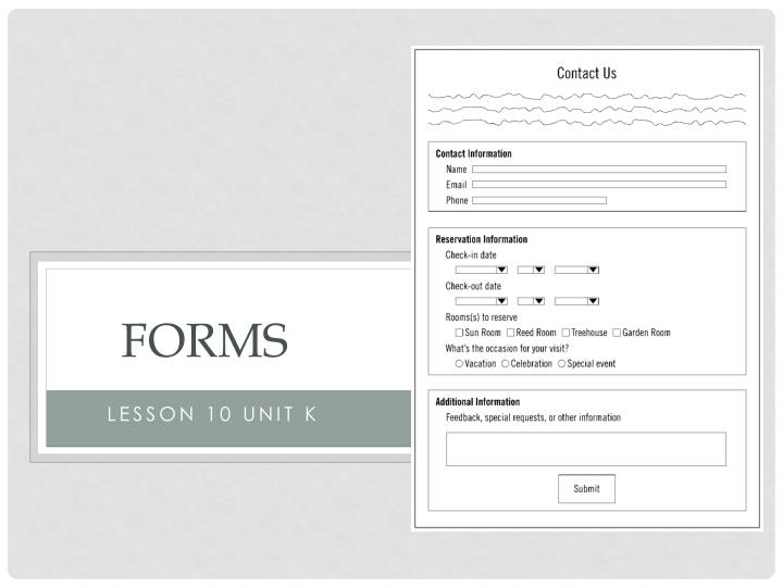 forms n.
