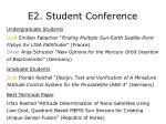 e2 student conference