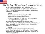 battle cry of freedom union version