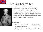 decision general lee