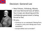 decision general lee1