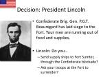 decision president lincoln1