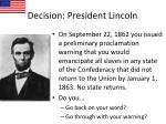 decision president lincoln3
