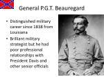 general p g t beauregard