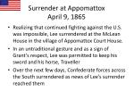 surrender at appomattox april 9 1865
