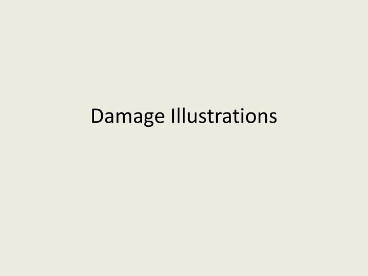 damage illustrations n.