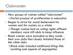 clubwomen
