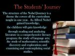 the students journey