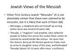 jewish views of the messiah2