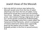 jewish views of the messiah5