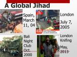a global jihad