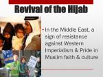 revival of the hijab