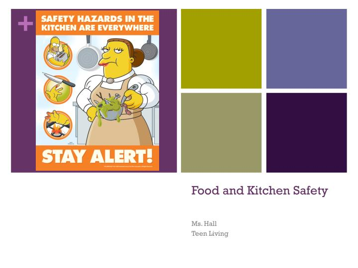 food and kitchen safety n.