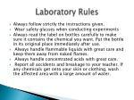 laboratory rules1