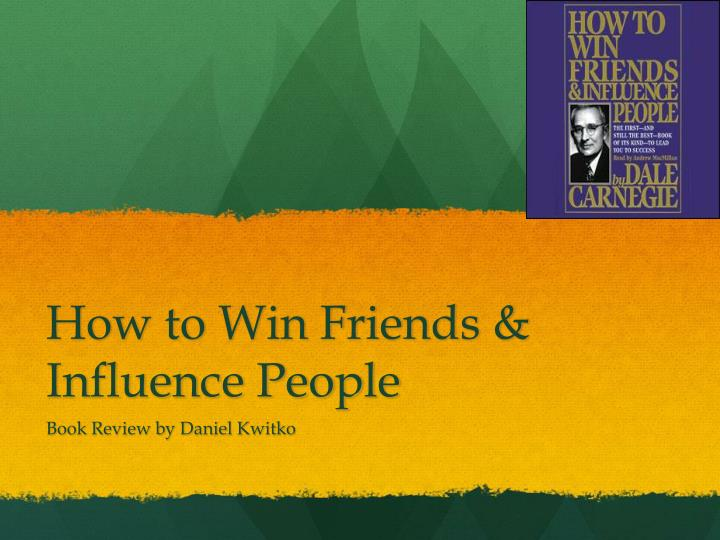 how to win friends influence people n.