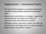applications conceptual goals