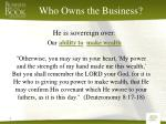 who owns the business3