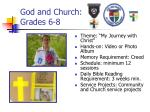 god and church grades 6 8