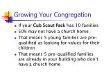 growing your congregation