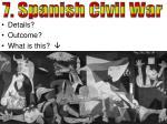 7 spanish civil war