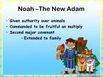 noah the new adam