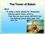 the tower of babel1