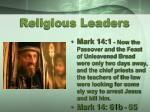 religious leaders