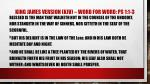 king james version kjv word for word ps 1 1 3