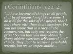 1 corinthians 9 22 27