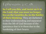 ephesians 4 17 18