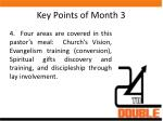 key points of month 31
