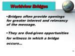 worldview bridges