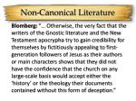 non canonical literature5