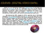 cd dvd d g tal v deo data