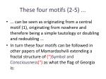 these four motifs 2 5
